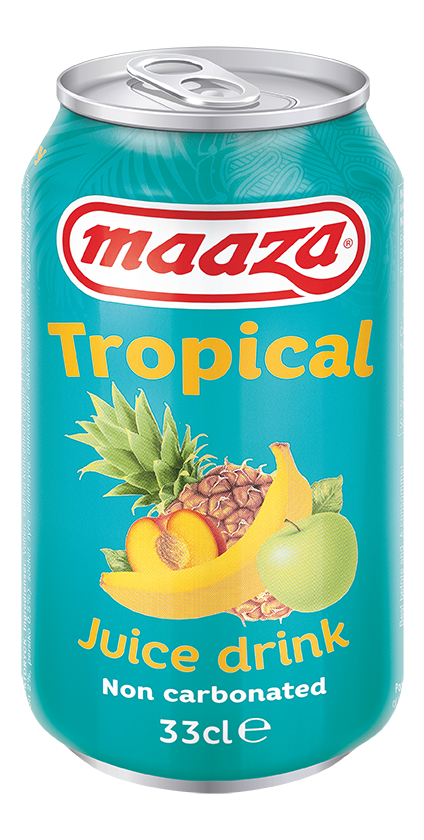 Tropical 33cl can