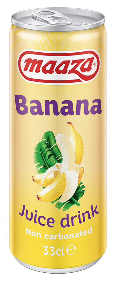 Banana 33cl sleek can