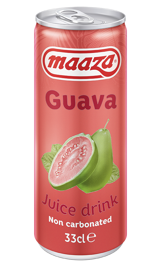 Guava 33cl sleek can