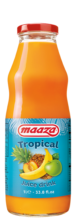 Tropical 1L glass